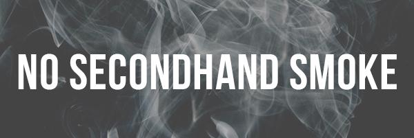 No Secondhand Smoke